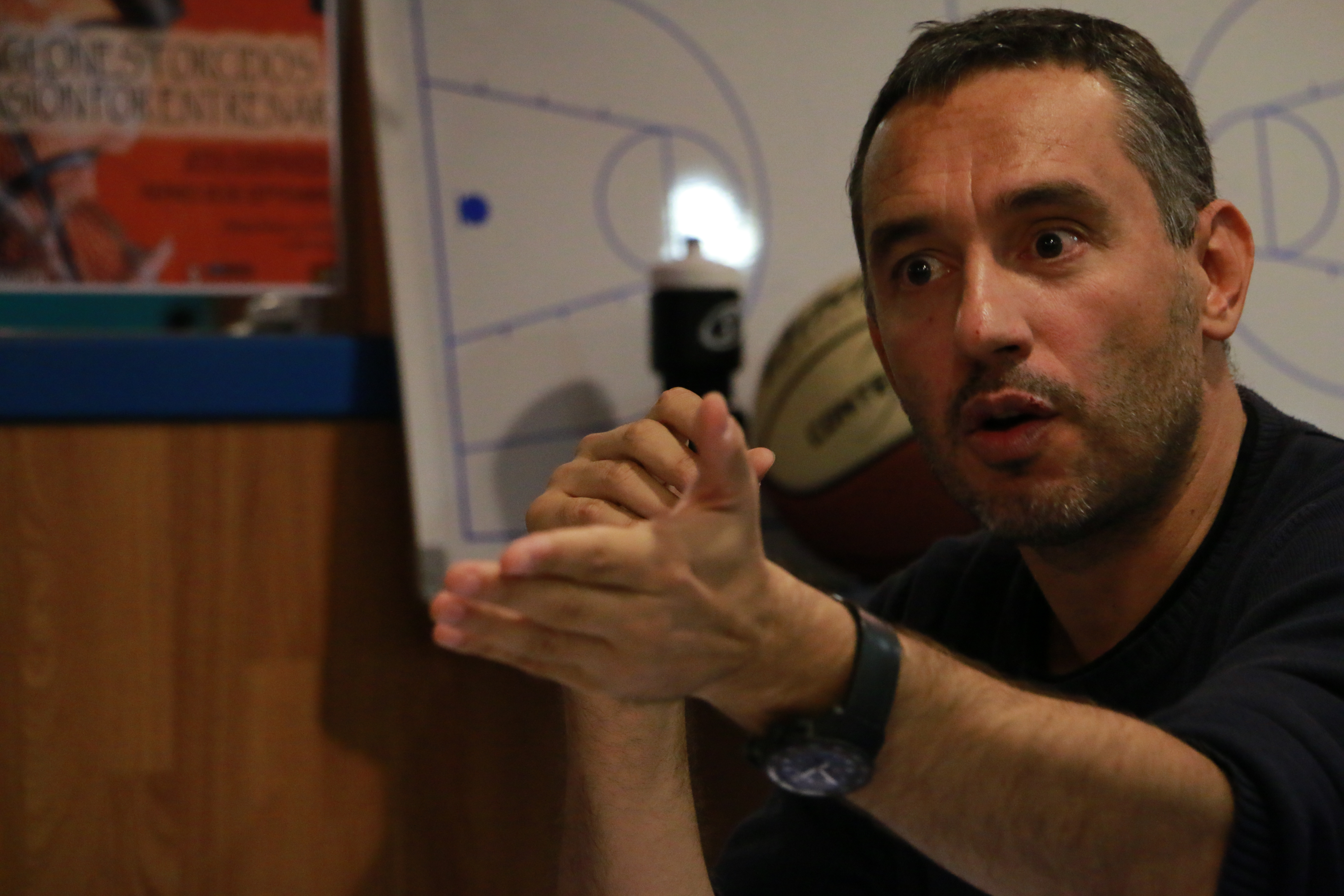 """Jota Cuspinera: """"Si alguien le dio la vuelta a mi mundo baloncestístico ese fue Messina"""""""