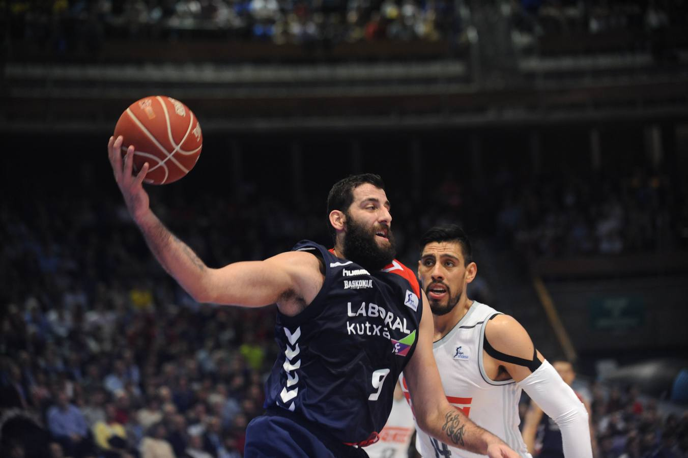Baskonia laboralkutxa- real madrid Semifinal copa del rey 2016 A coruña 20-2-2016 igor aizpuru