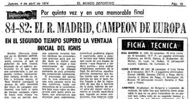 24 Segundos Vintage #01 Real Madrid vs Varese (Final Copa de Europa 1974)