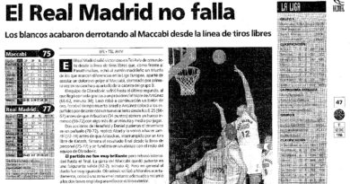 24 Segundos Vintage #06 Maccabi vs Real Madrid (Liga Europea 1995-1996)