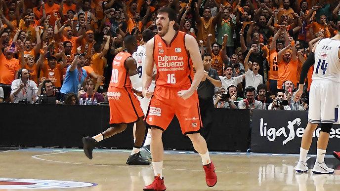 Valencia Basket es el nuevo campeón tras derrotar a un débil Real Madrid (87-76)
