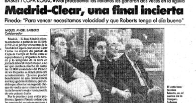 24 Segundos Vintage #12 Real Madrid vs Cantú (Final Copa KORAC 1991)