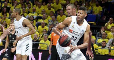 El Real Madrid Baloncesto logró una importante victoria en ACB frente al Tenerife