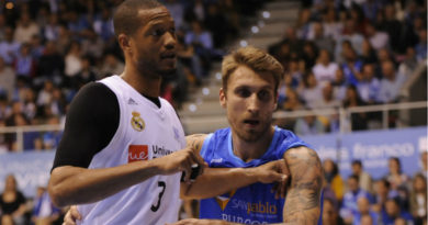 Real Madrid San Pablo Burgos Liga ACB 2018-2019 Randolph