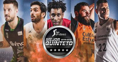 Campazzo y Tavares, elegidos en el mejor quinteto de la ACB 2018/19