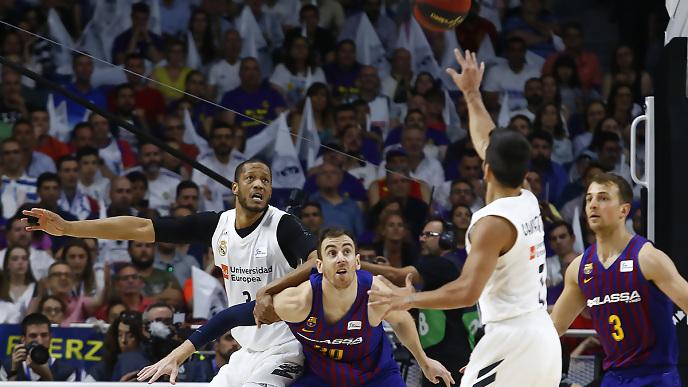 Crónica | (Final Liga Endesa) Una exhibición global del Madrid le da el primer punto en la final