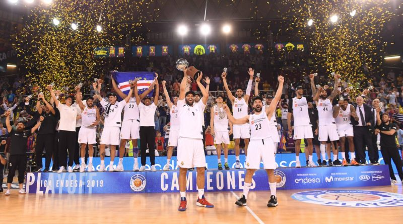 Real Madrid Baloncesto Campeones ACB 2019 FC Barcelona Final Palau
