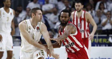 real madrid baloncesto fabien causeur olympiacos euroliga