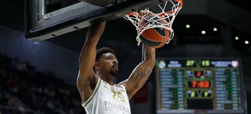Jordan Mickey ASVEL Villeurbanne Real Madrid