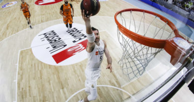 rudy fernandez real madrid valencia basket - acb photo