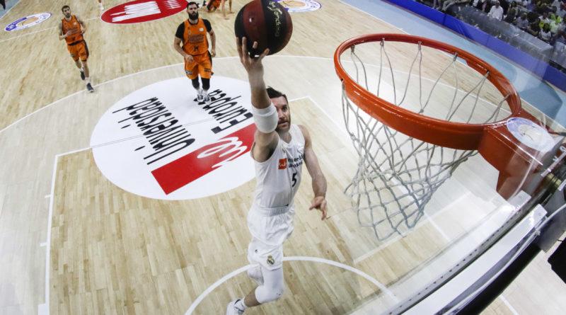 rudy fernandez real madrid valencia basket - acb photo