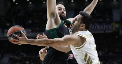 campazzo y calathes en el real madrid panathinaikos