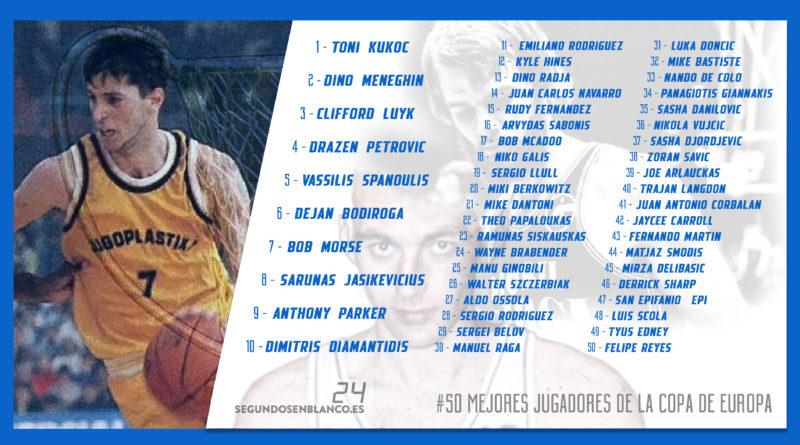 50 mejores jugadores de la historia de la copa de europa
