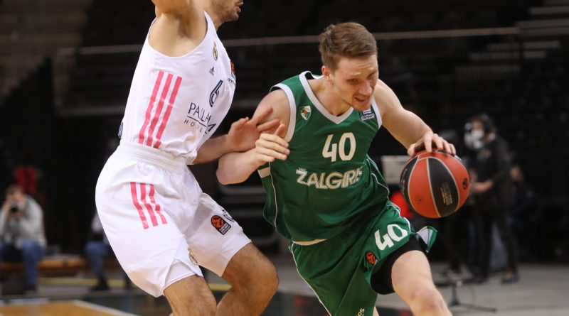 Zalgiris Real Madrid Abalde Euroliga 2020-21