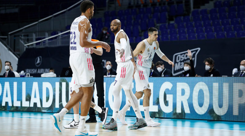alex tyus debut real madrid armani milan euroliga