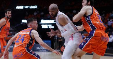 partido Valencia Basket Real Madrid semifinal liga endesa 2020-21 alex tyus 24senblanco